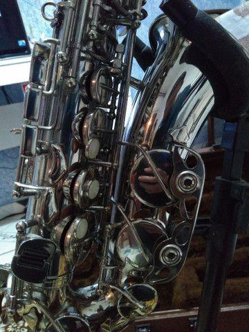 Sax alto weril master lindo original de fábrica  - Foto 3
