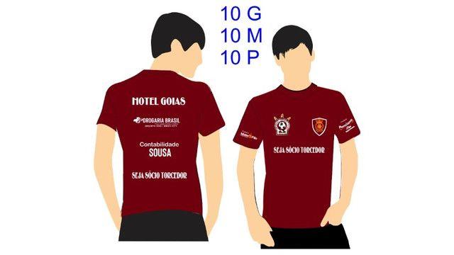 Camisa P M G oficial torcida Umuarama Esporte Clube - Foto 3