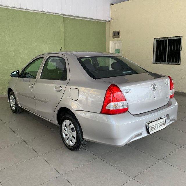 Toyota Etios Automático X 1.5 2018 Completo!!! - Foto 6