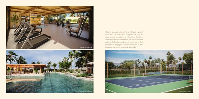 GN- Lançamento beira mar Muro Alto, 2qts c/ piscina e rooftop privativo. - Foto 9