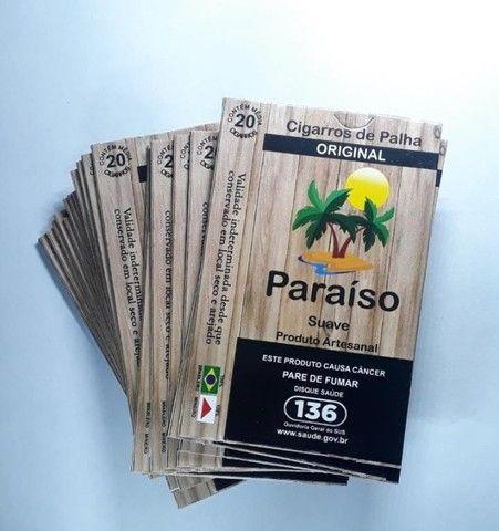 Cigarros de Palha Paraíso - Caixinha - Foto 5