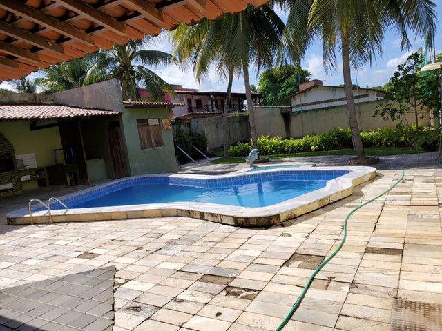 Casa com 5/4, piscina , campo de futebol na barra de São Miguel  - Foto 2
