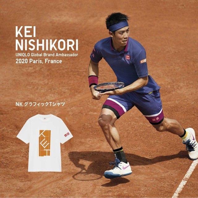 Uniqlo Kei Nishikori T-shirt - Foto 6
