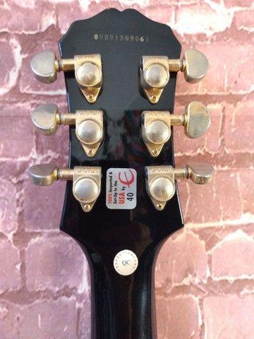 Guitarra Epiphone Les Paul Custom Pickups Gibson - Foto 5
