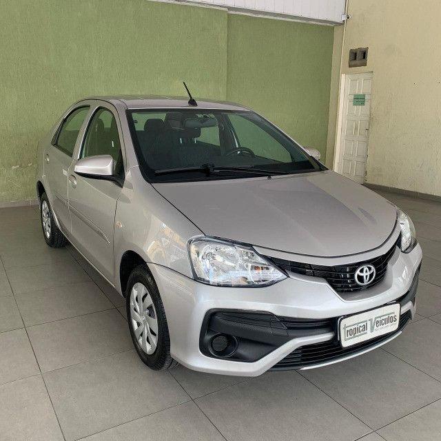 Toyota Etios Automático X 1.5 2018 Completo!!! - Foto 2