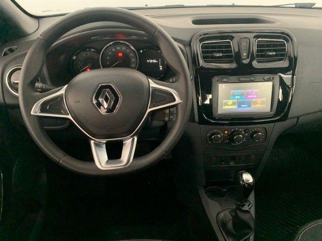 Renault Logan Zen 1.6 Flex CVT 41.000km 2019/20 - Foto 8