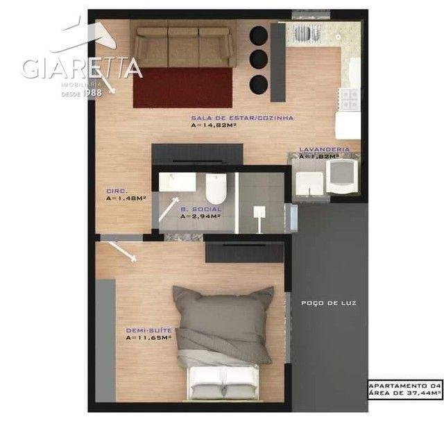 Apartamento com 2 dormitórios à venda,73.71 m², JARDIM SANTA MARIA, TOLEDO - PR - Foto 6