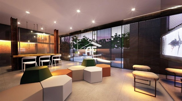Apartamento Studio, Varanda e Vista para o Mar - Ótima forma de pagamento - Foto 14
