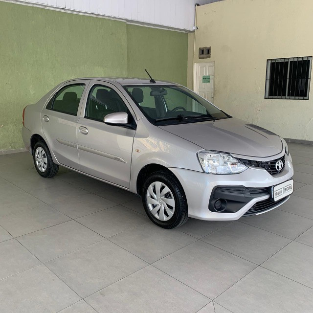 Toyota Etios Automático X 1.5 2018 Completo!!!