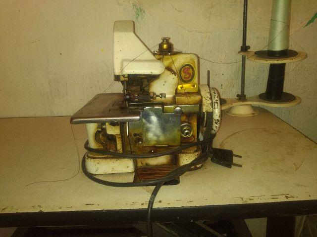 Vendo máquina overloque semi industrial - Foto 2