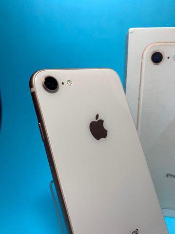 iPhone 8 64Gb Gold Rose Seminovo  - Foto 3