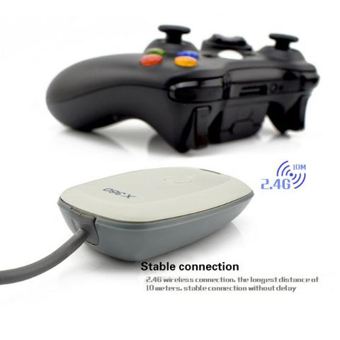 Receptor Wireless Para Controle Xbox 360 no PC