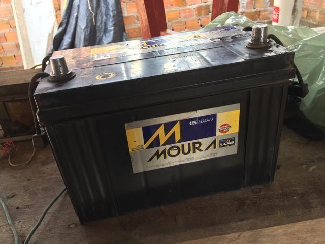 Bateria 90ah Moura