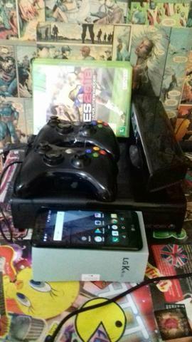 Troco XBox 360 +LG K4 lite em One ou Ps4