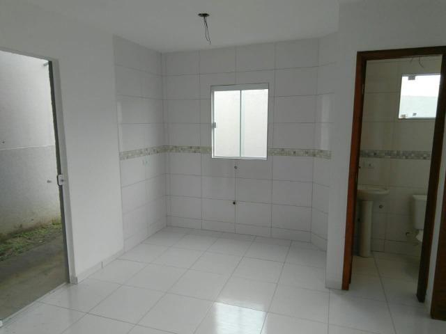 Casas 03 Quartos- Entrada Parcelada - Campo de Santana/Tatuquara - Imobiliaria Pazini - Foto 3