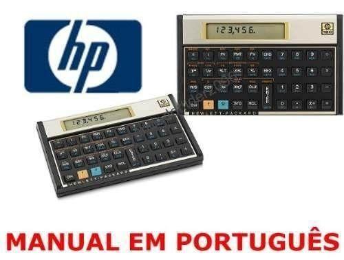 calculadora financeira hp 12c gold outros itens para com rcio e rh pe olx com br manual da hp 12c prestige em portugues manual da hp 12c em portugues pdf