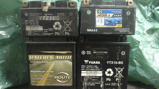 ce7102e7 Baterias para moto usadas - Peças e acessórios - Asteca, Santa Luzia ...