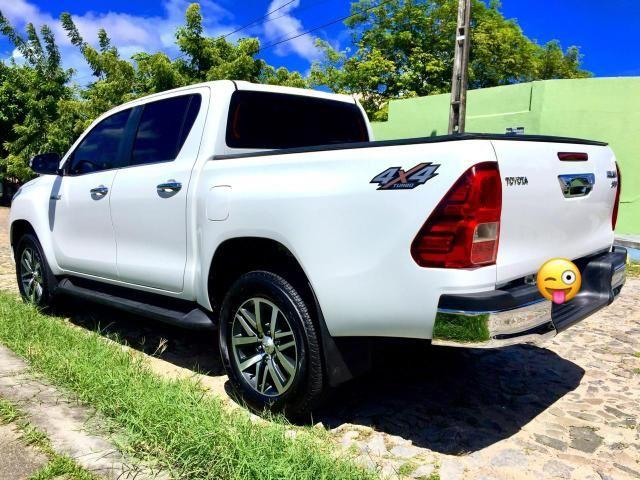 Toyota Hilux SRX 2017 único dono diesel IMPECÁVEL!!! - Foto 16