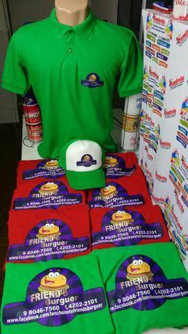 df0030fbb Camisetas personalizadas para empresas - Outros itens para comércio ...