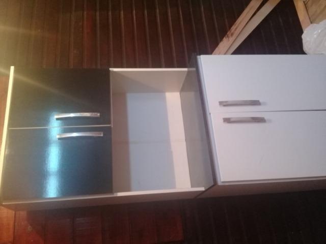 Cozinha compacta sem o inox mais armário usado
