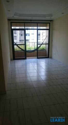 Apartamento para alugar com 3 dormitórios em Ponta da praia, Santos cod:483341 - Foto 3