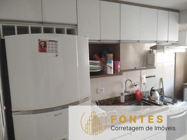 Apartamento com 3 dormitórios, sala, cozinha, 1 vaga de garagem, armários sob medida na co - Foto 3