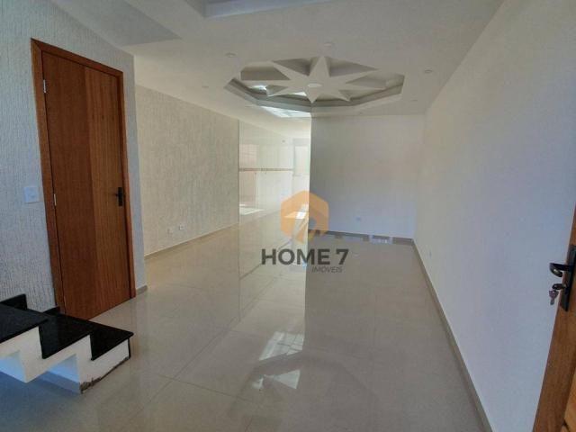 Sobrado à venda, 90 m² por R$ 320.000,00 - Sítio Cercado - Curitiba/PR - Foto 4