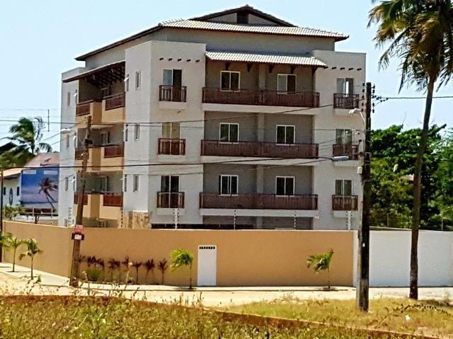 Apartamento mobiliado completo 2 quartos vista mar 100 mt do centro do cumbuco ce brasil - Foto 17