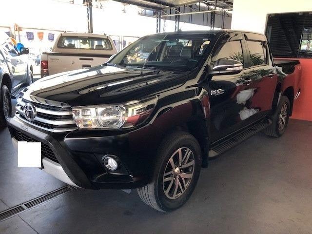 Toyota hilux cabine dupla hilux 2.8 tdi srv cd 4x4 (aut) 2017 - Foto 3
