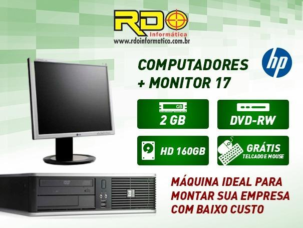 Computador Cpu Barato Dell HP Lenovo Dual Core - Foto 2