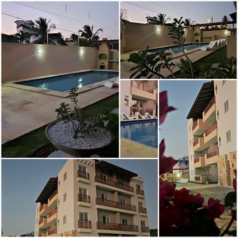Apartamento mobiliado completo 2 quartos vista mar 100 mt do centro do cumbuco ce brasil - Foto 19