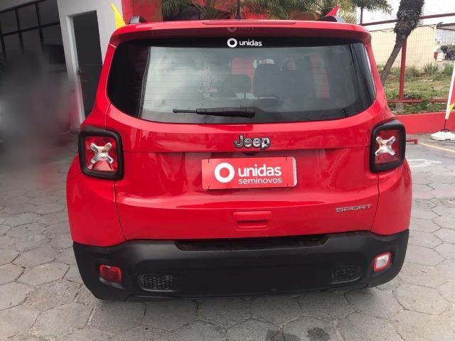Jeep Renegade Sport 1.8 flex 2018/2019 +ipva 2020 + Transferência - Foto 8