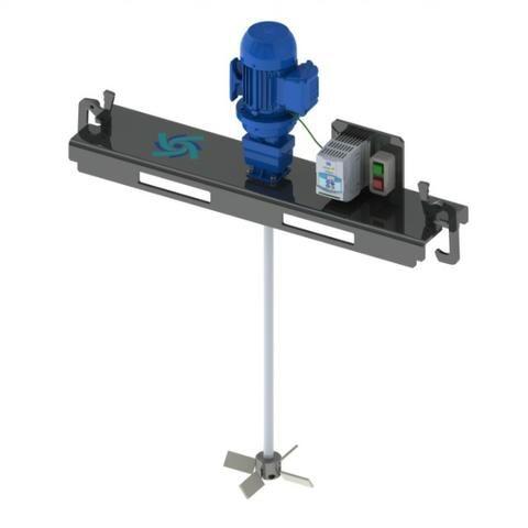 Misturador (Agitador) para tanque IBC 1000 litros - Foto 2