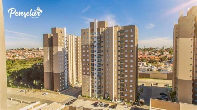 Apartamento com 3 dormitórios à venda, 63 m² por R$ 353.038,75 - Jardim Vista Verde - Inda