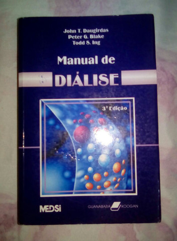 Livro na Área da Saúde Manual da Diálise