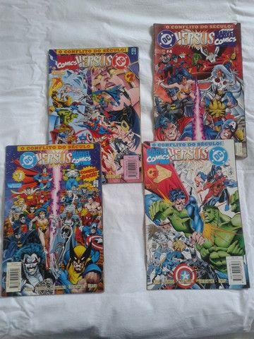 Promoção! - Vendo Coletânea de histórias em quadrinhos da Marvel e DC, edições raras - Foto 4