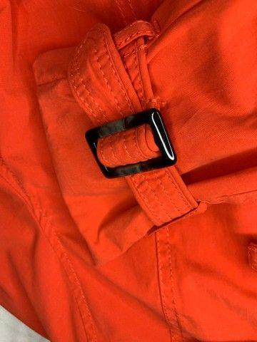 Trench coat laranja h&m  - Foto 6