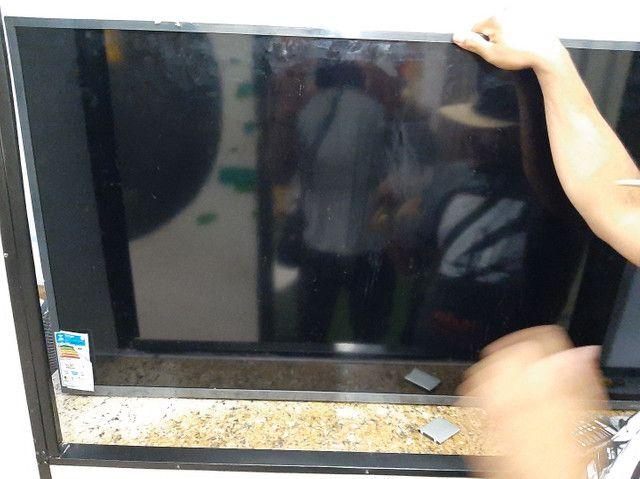 Tv LG smart 50 polegadas  4k nova  tela trincada