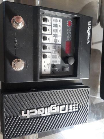 Kit guitarra mais pedaleira e transmissor