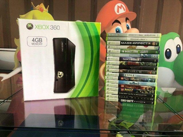 Xbox 360 com kinect. Venha conhecer a maior loja de ganes do ABC!  - Foto 4