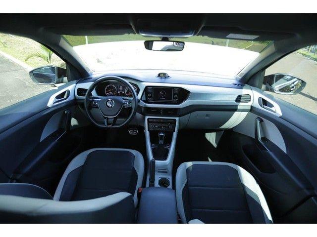 Volkswagen T-Cross HIGHLINE 1.4 TSI FLEX AUT. - Foto 8
