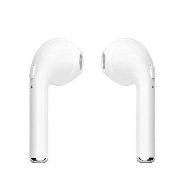 Fone Sem Fio Airbud I7S Bluetooth TWS 3-4 Horas de Música - Foto 4