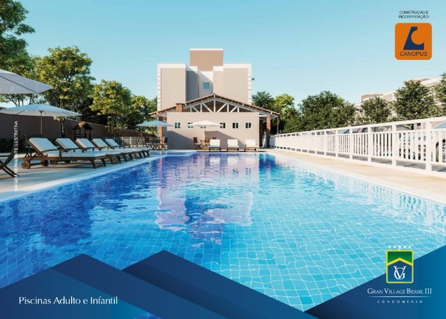 condominio village brasil 3, apartamentos com 2 quartos. - Foto 6