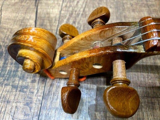 Violino 4/4 Rolim premium Serie limitada madeira Araucaria Sombrear Brilho Orquestra Ccb - Foto 3