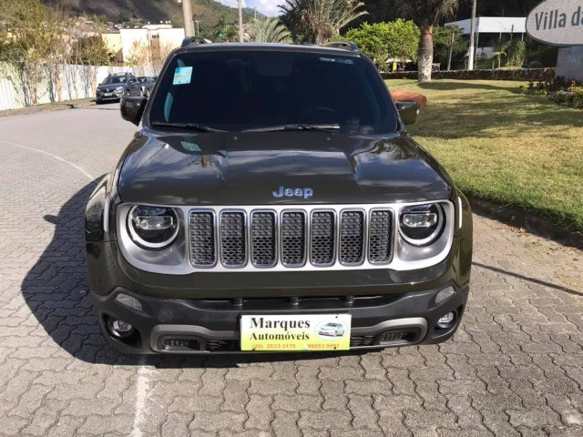 Jeep Renegade Limited 1.8 flex automático 2020