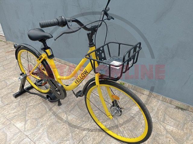 Bike Caloi Aro 26 Yellow Completa Montada - a pronta entrega!!! - Foto 3