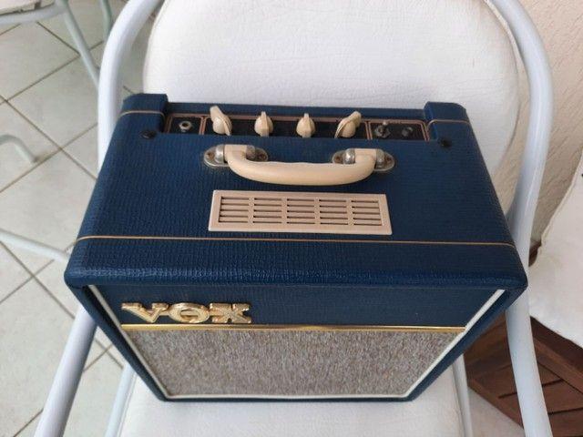 Amplificador Vox valvulado AC4C1 Blue - Foto 4