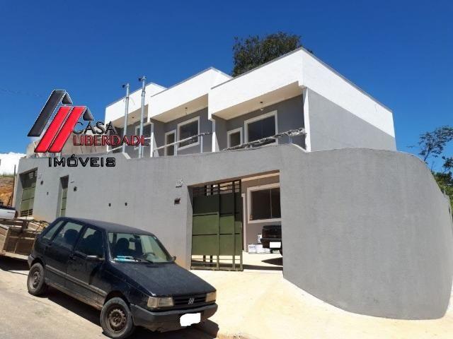 Casa geminada 2 quartos bairro Liberdade Santa Luzia/MG. Cod:391