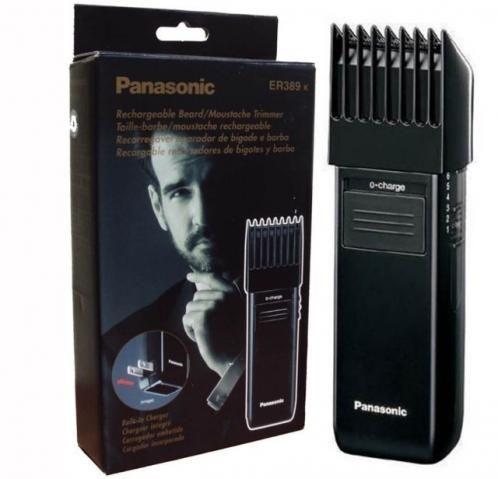 Máquina Aparadora Barba Pelos Acabamento Panasonic Er 389k