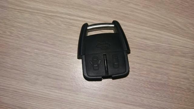 Telecomando, controle remoto do alarme na chave com 3 botões do Astra